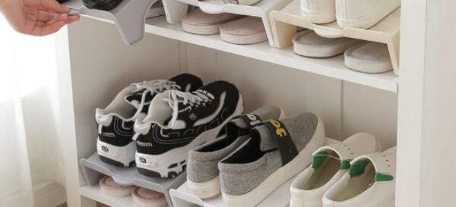 Как хранить обувь: идеи и системы для шкафа