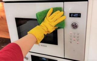 Как почистить микроволновку внутри от жира в домашних условиях: 9 способов