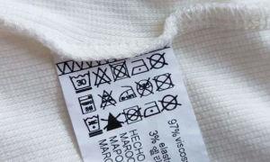 Расшифровка значков стирки и ухода на одежде: ТАБЛИЦА