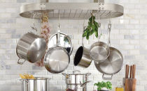 Хранение кастрюль и сковородок на кухне