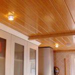 Мытье подвесного потолка