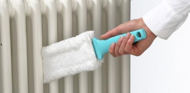 Как помыть батареи отопления