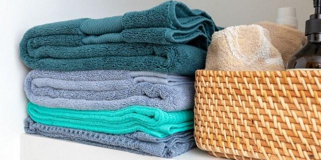 Как хранить полотенца в шкафу