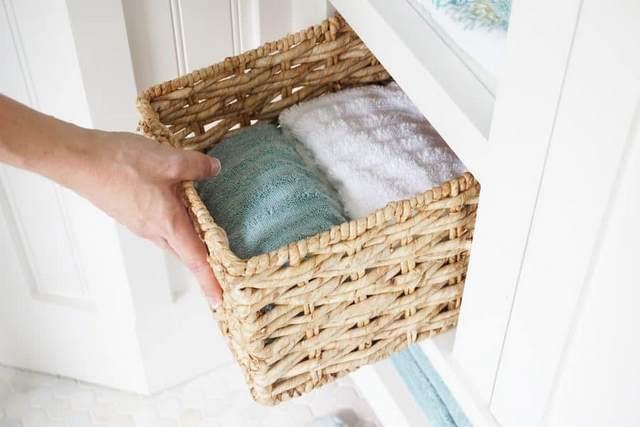 Как хранить полотенца