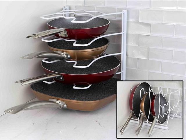 Органайзер для хранения кастрюль и сковородок