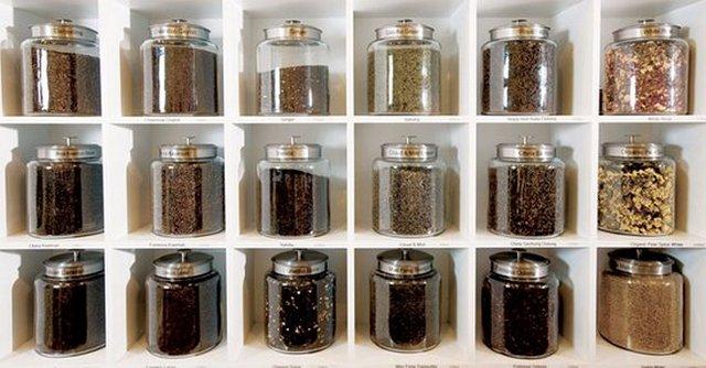 Банки для хранения чая