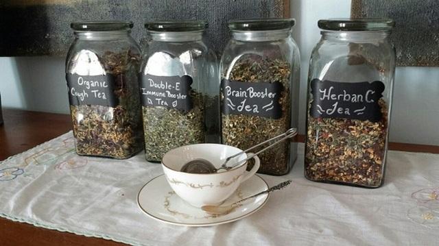 Емкости для хранение чая