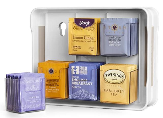 Хранение чая в пакетиках