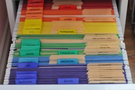 Фото идей хранения документов дома