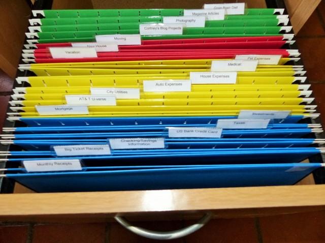 Идея хранения документов дома