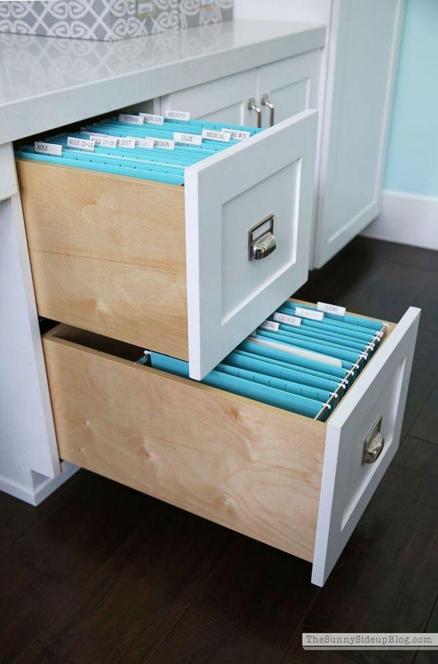 Организация хранения документов в домашнем офисе
