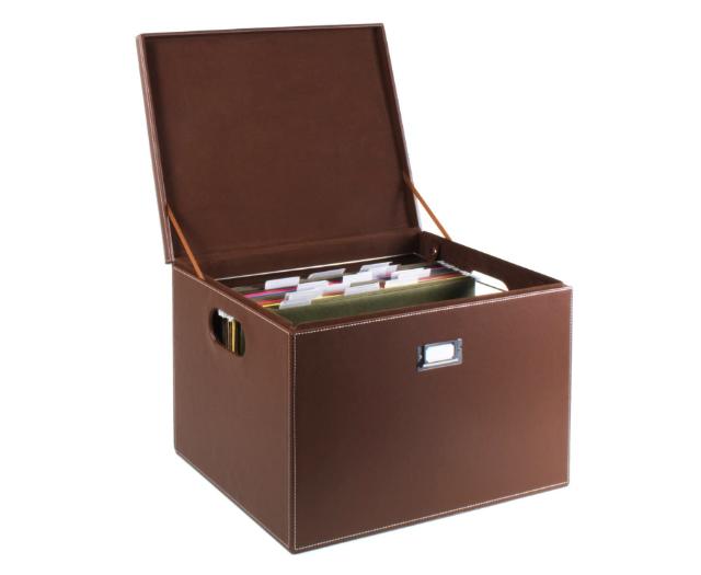 Ящик для домашнего хранения документов