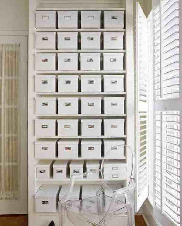 Хранение коробок с обувью