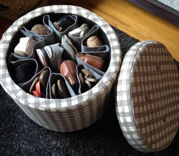 Как хранить обувь без коробок