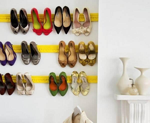 Компактное хранение обуви