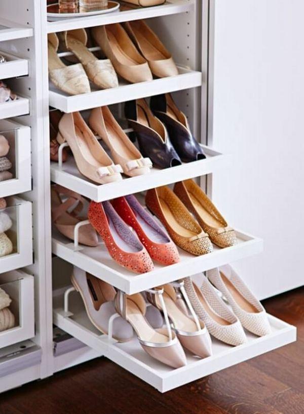 Мебель для хранения обуви в прихожей