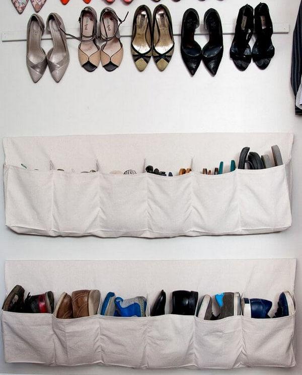 Мешки для хранения обуви