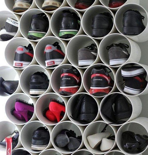 Ячейки для хранения обуви