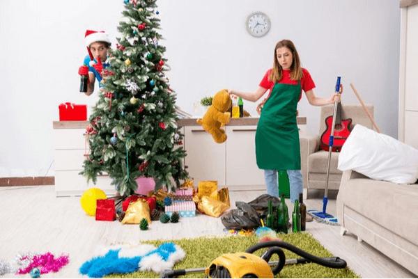 Генеральная уборка перед Новым годом