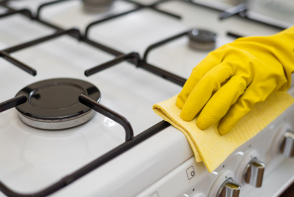 Как почистить плиту в домашних условиях
