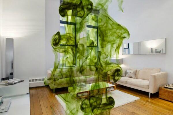 Как убрать запах в квартире