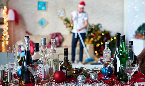 Уборка квартиры к Новому году