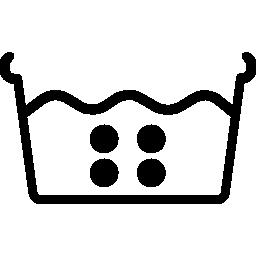 Расшифровка значка стирки в горячей воде