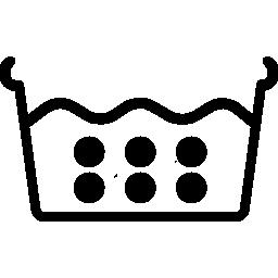 Расшифровка знаков стирки в горячей воде на этикетках